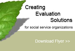Creating Evaluation Solutions for social service organizations